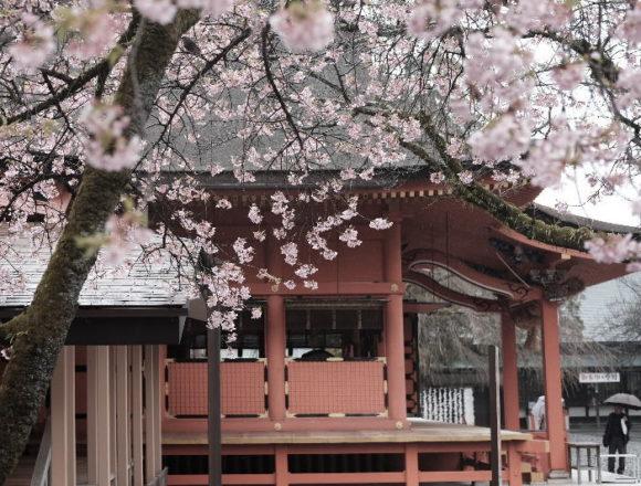 Fujisan Hongu Sengen Taisha Shrine near Mount Fuji