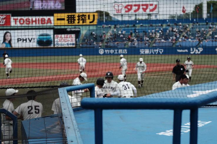 Tokyo Big6 Baseball League (Fujifilm X-T1 & Hexanon 50mm f1.7)