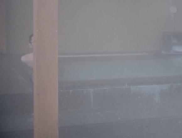 soaking in the Japanese sento