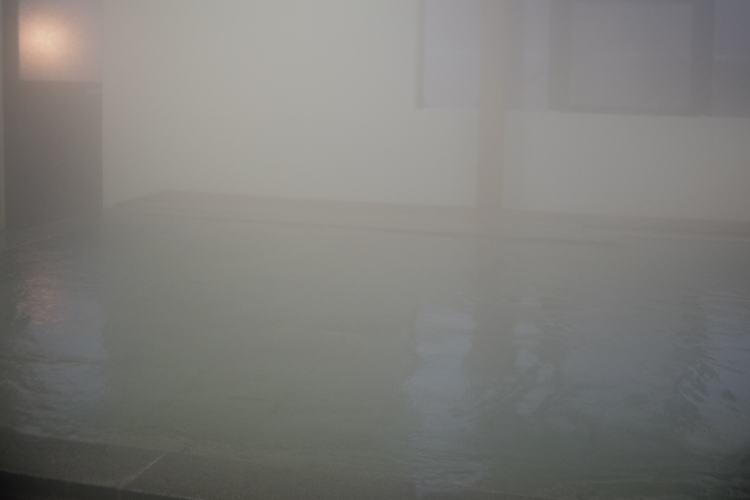Japanese-style communal bathtub (P. Angenieux Paris 15mm f1.3 lens)