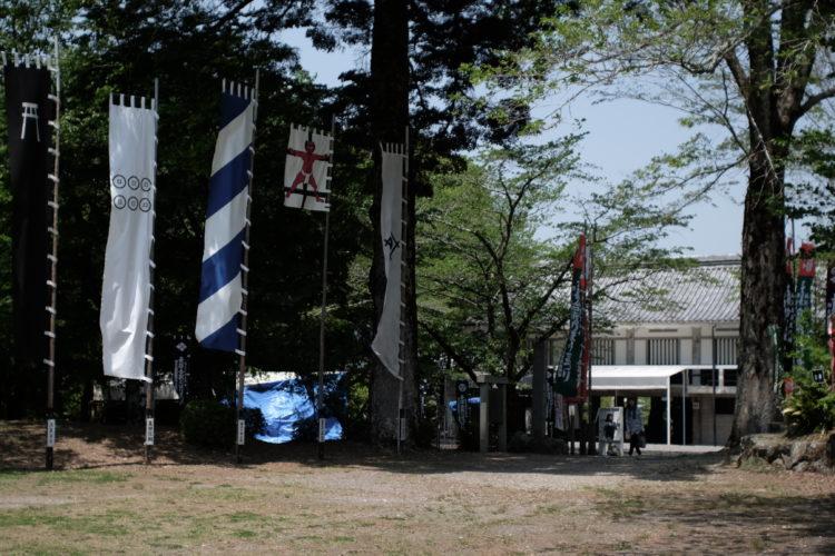 The Nagashino Castle Ruins Museum in Aichi, Japan