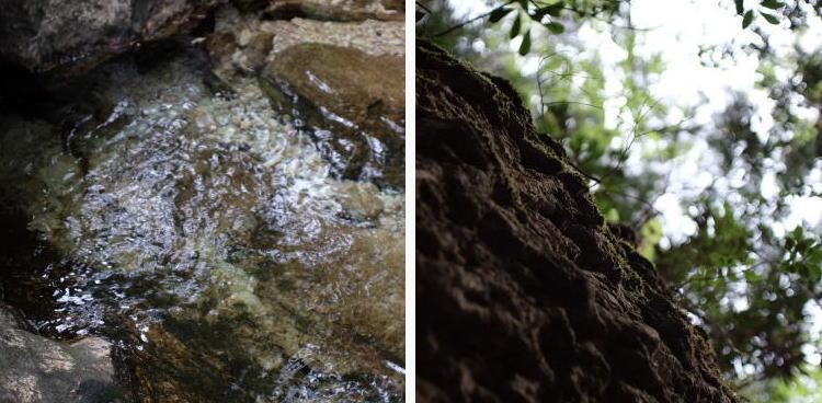 Nature at Chiiwa-kyo mountain gorge, Aichi Prefecture.
