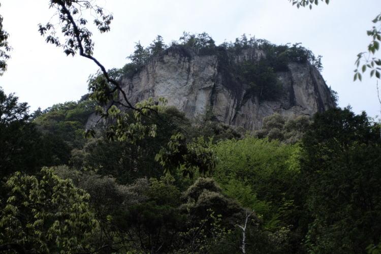Mt. Chiiwa, a free-climbing spot in Japan.