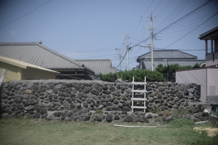 A scene in the Nagasakibana Town, Choshi.