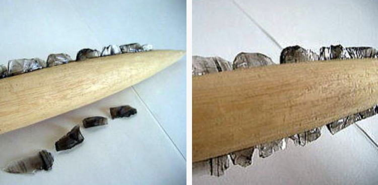 How to make saisekki (saisekijin), a tool in the Ice Age in Japan