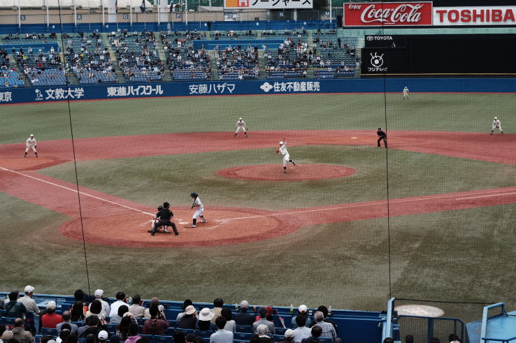 the Tokyo Big6 University Baseball League(東京六大学野球)