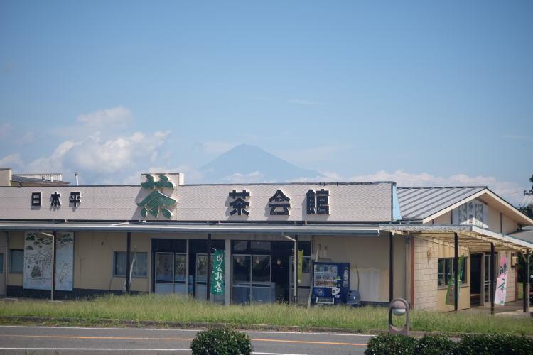 Mount Fuji in September.(日本平から見る富士山)