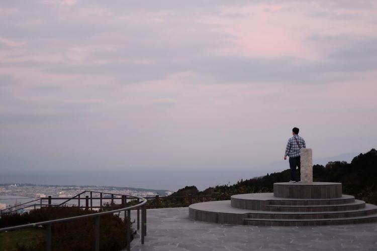 Nihondaira hill in Shimizu, Japan