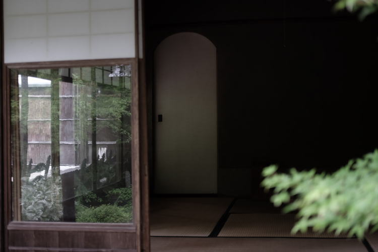 Traditional Japanese House in Kyoto.