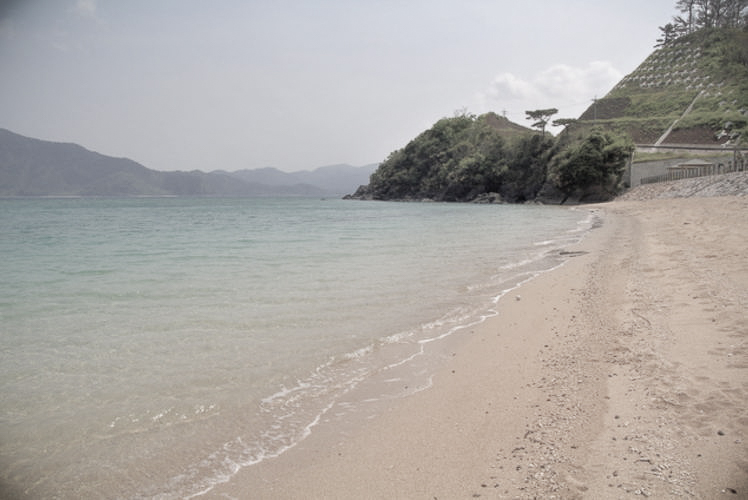 Odon Beach on the island of Amami-oshima(奄美大島の尾鈍海水浴場)