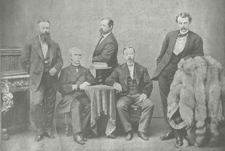 Horace Capron and other government advisors from America (ケプロンとその他の御雇アメリカ人たち)