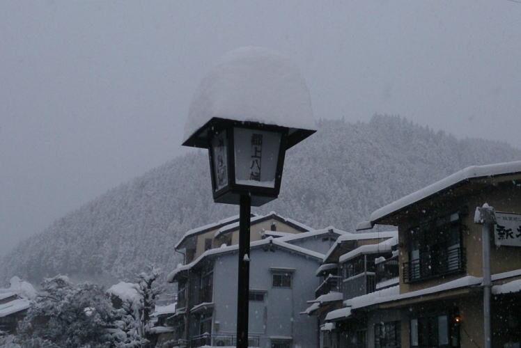 Winter in Gujo Hachiman (郡上八幡の冬)