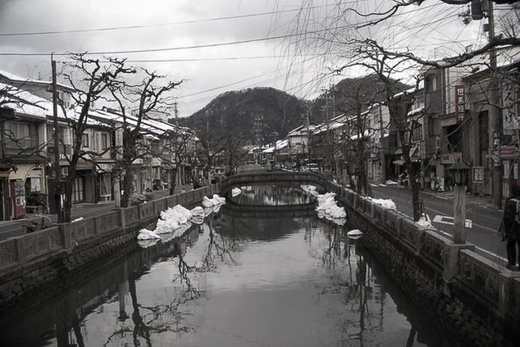 Kinosaki spa (城崎温泉)