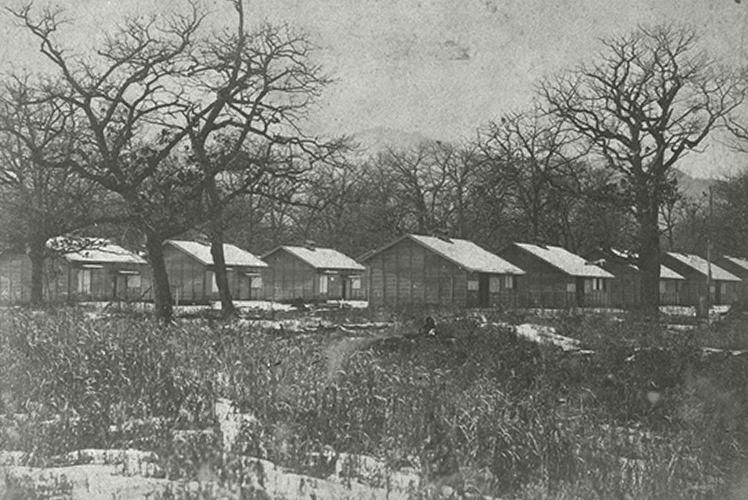 tondenhei barracks in Kotoni, Sapporo (琴似村の屯田兵兵舎)