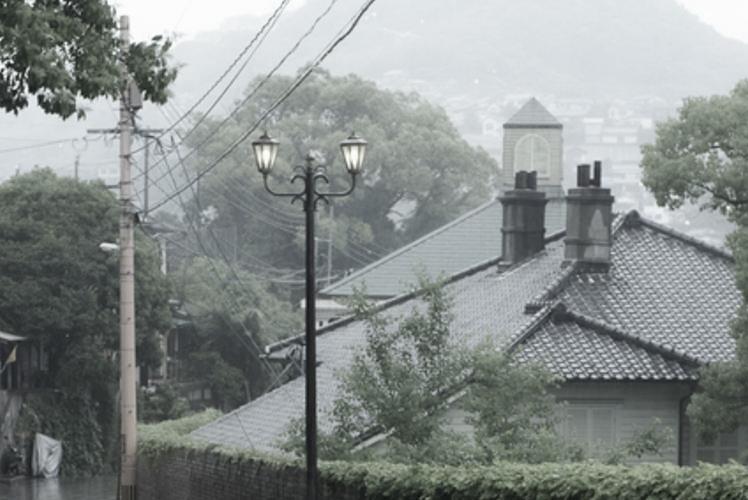 A view from Oranda-zaka, Nagasaki(長崎オランダ坂からの眺め)