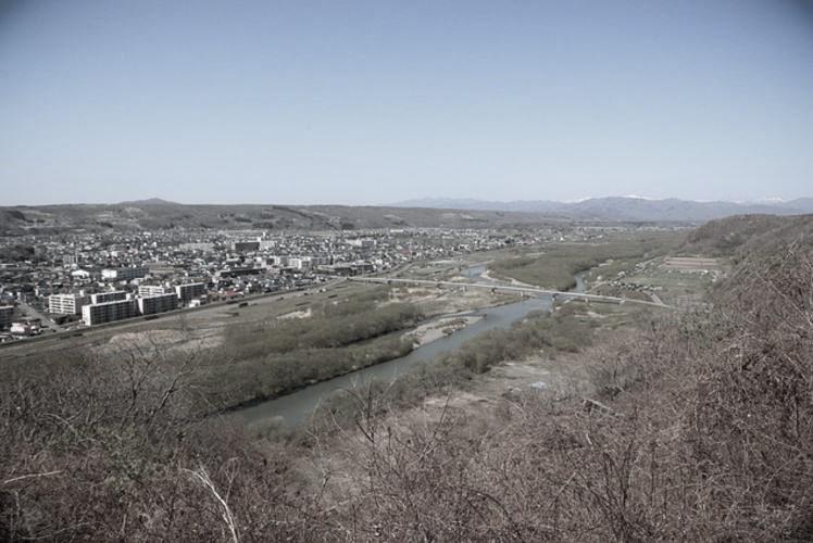 the town of Shinhidaka and the Shizunai River. (シャクシャインの戦い)