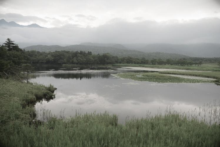 Lake Ichiko, one of the Shiretoko Five Lakes(知床五湖の一湖)