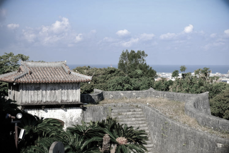 The site of Shuri Castle in Okinawa (首里城)