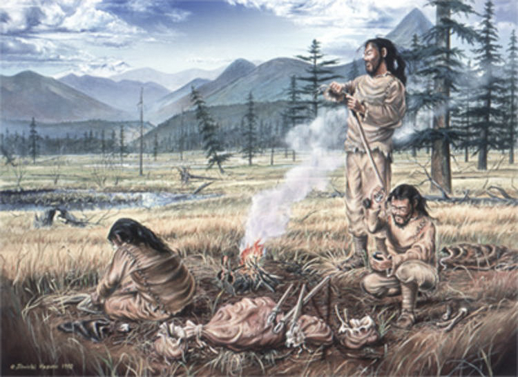 Life of the Paleolithic people in Japan (旧石器時代の生活)