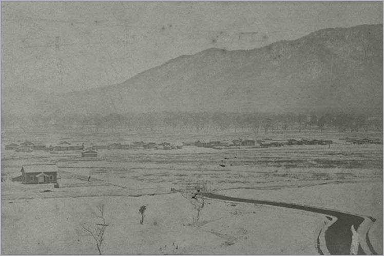 Sapporo in 1873 (明治初頭の札幌)