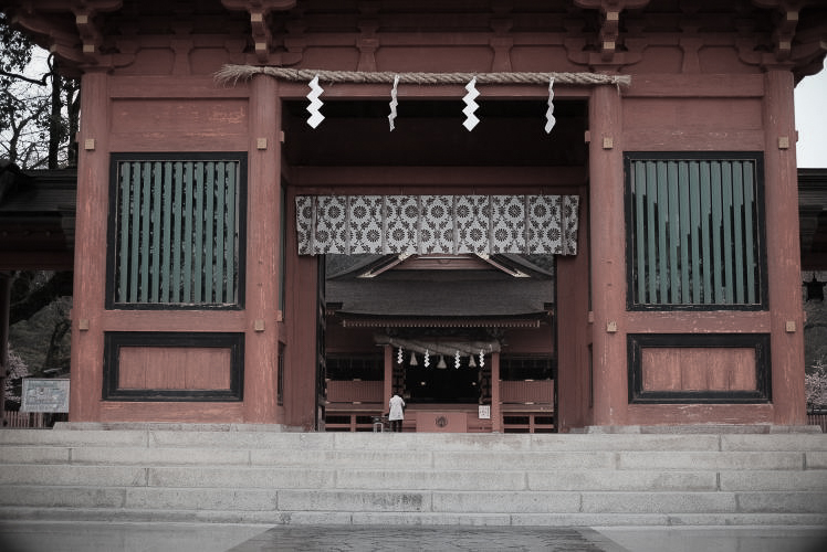 The Romon of Sengen Taisha (楼門)