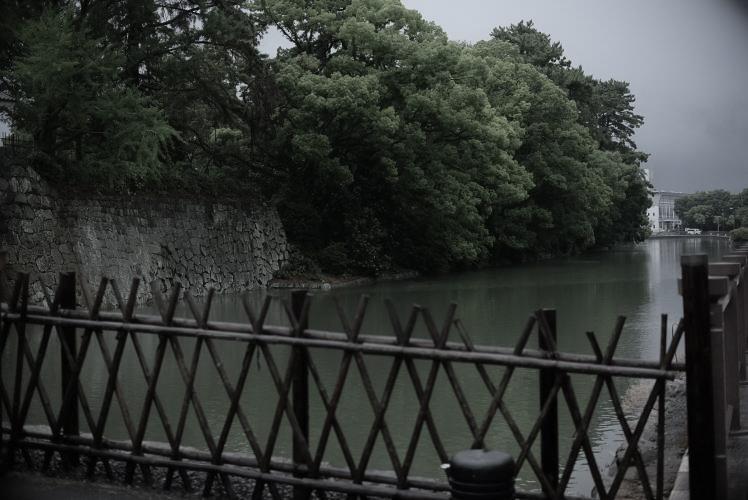 Moat at Sumpu Castle (駿府城の堀)