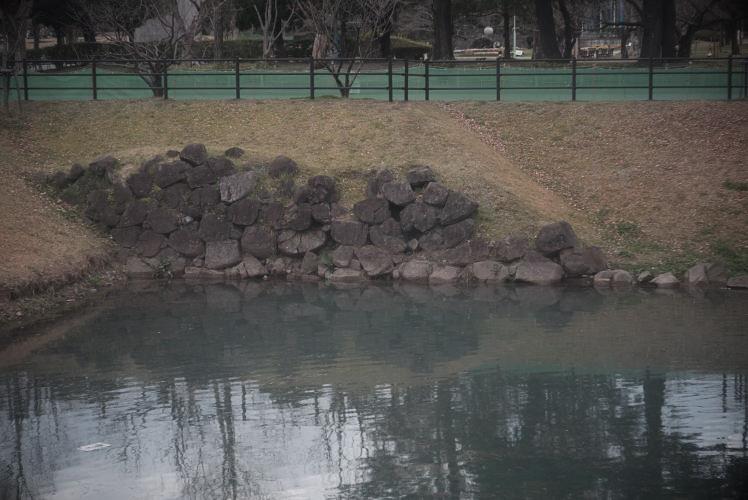 Innermost moat of Sumpu Castle (駿府城の堀)