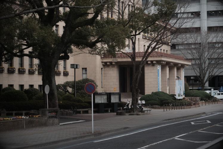 A Shizuoka Prefectural Government building (静岡県庁ビル)