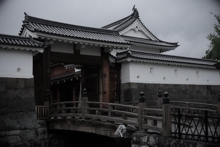 Sumpu Castle, a photo taken with a Fujifilm X-T1
