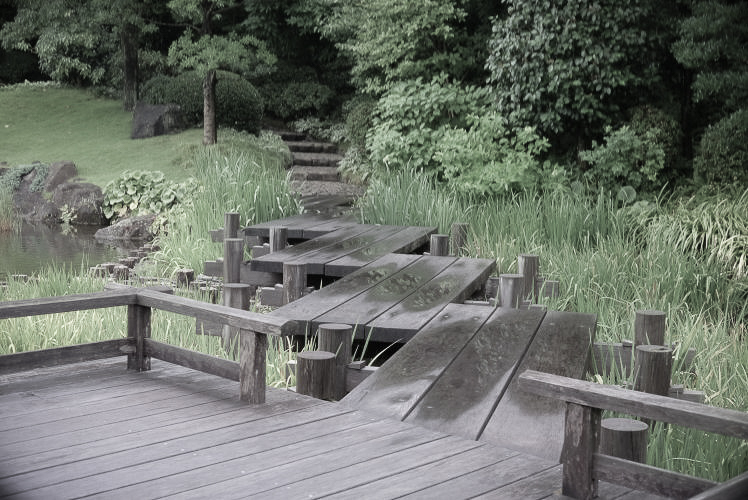 Momijiyama Japanese Garden in Sumpu Castle Park, Japan