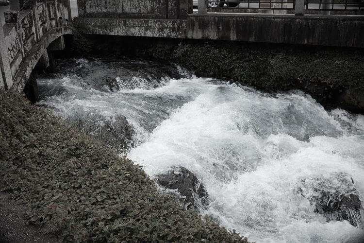 Kanda Stream at Wakutama Pond