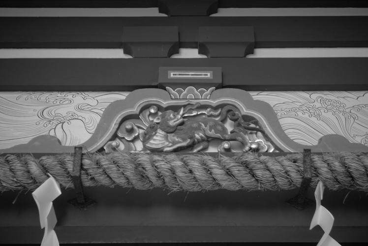 baku carving at Kunozan Toshogu