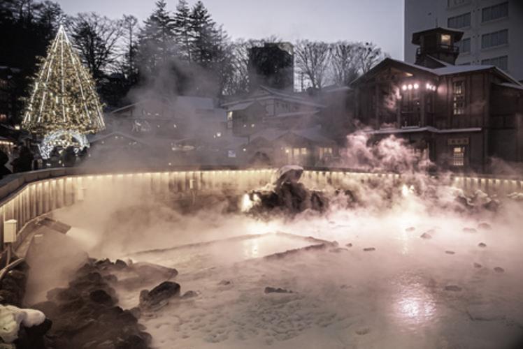 Kusatsu hot spring resort