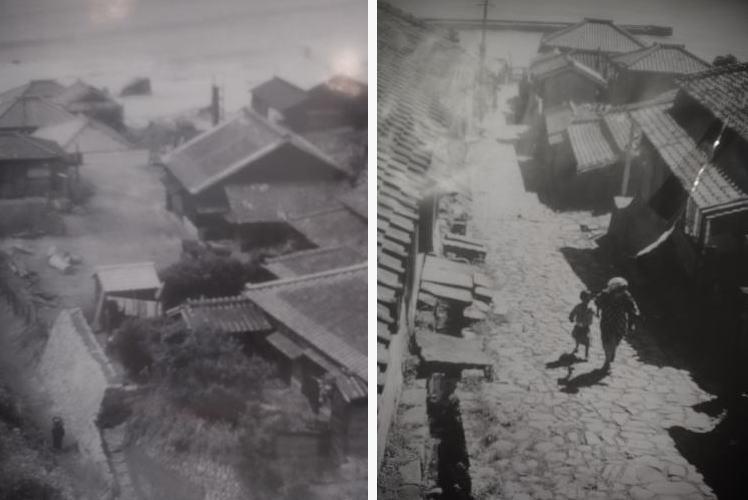 Tokawa town in the old days
